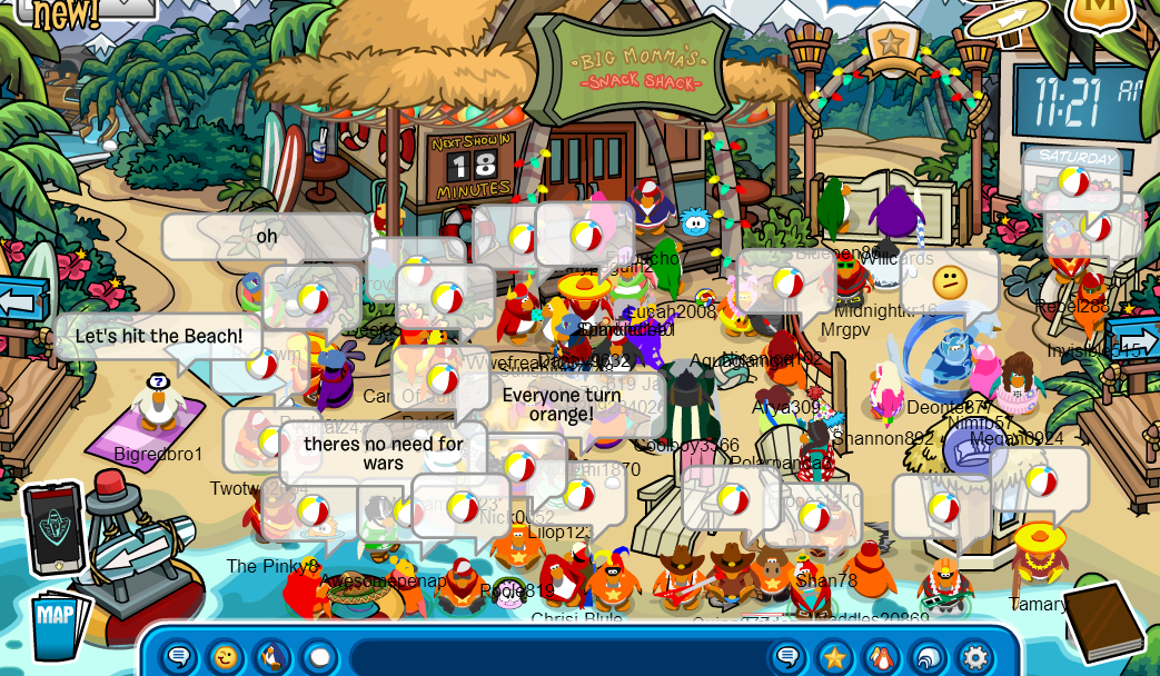 how to join club penguin nachos